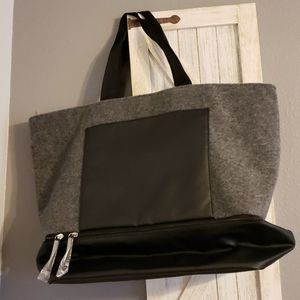 NWOT DSW Weekend Tote with Shoe Compartment